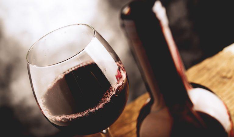 Red wine at the halfway bridge